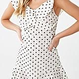 Polka Dot Off-the-Shoulder Dress