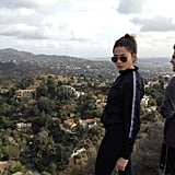 Jessica Gomes set off for a hike. Twitter User: iamjessicagomes
