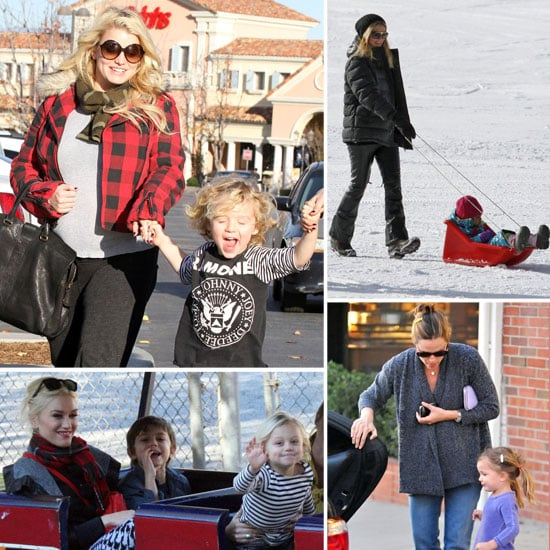 Celebrities and Their Children Pictures December 27, 2011