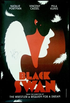 I'm obsessed with vintage (or vintage-looking) movie posters, and this Chisolm Larsson Gallery Black Swan Poster ($325) is a pretty incredible find. I love how perfectly it shows the theme of the movie while still looking really cool and film noir. I can't wait to hang it in a huge gold frame in my apartment.