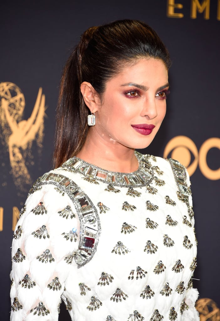 Priyanka Chopra Beauty At The Emmys 2017 Popsugar Beauty