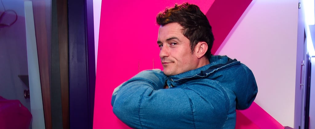 Orlando Bloom Is in London and on Top Form