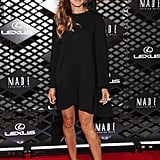 Sarah Jessica Parker wore a black frock.