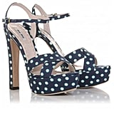 Miu Miu Polka Dot Sandals (£295)