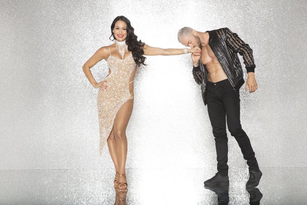 Nikki Bella With Artem Chigvintsev