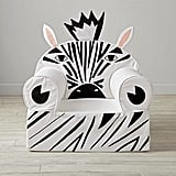 Large Zebra Nod Chair Cover