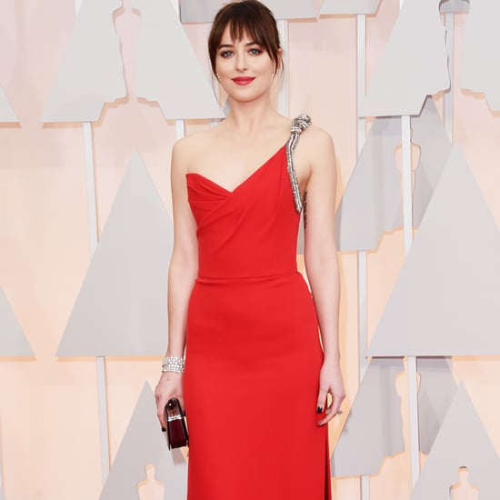 Red Dresses at the 2015 Oscars