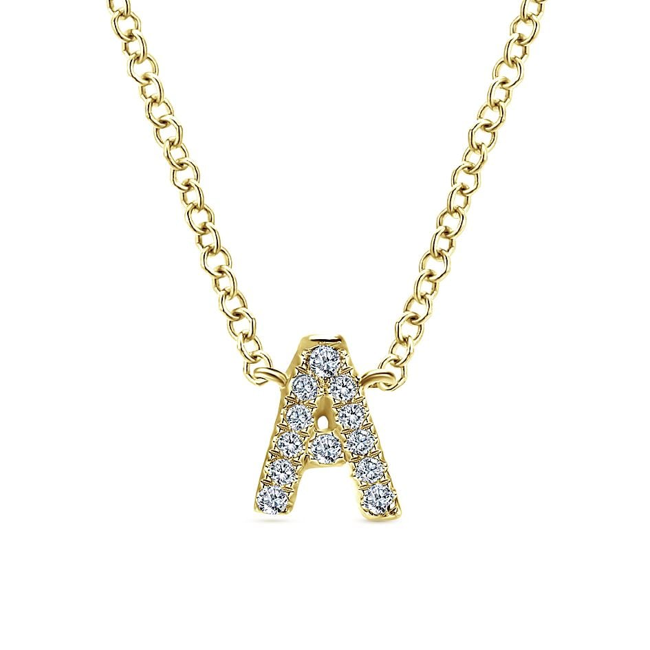 Gabriel NY Initial Necklace