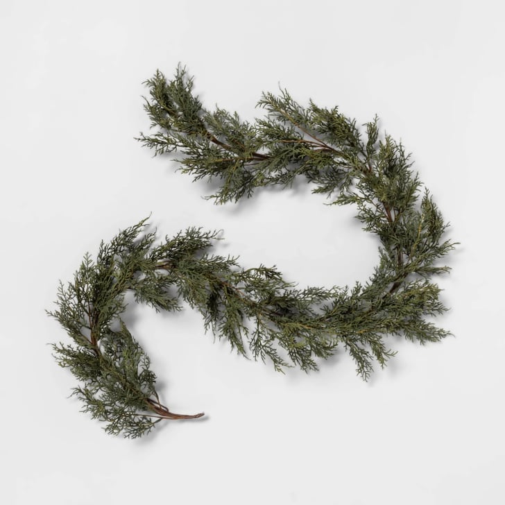 Faux Cypress Garland Target New Hearth And Hand Fall Products Popsugar Home