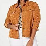Monteau Trendy Corduroy Jacket