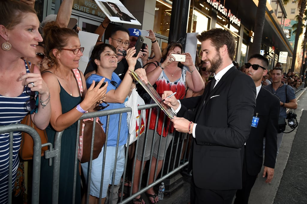 Liam Hemsworth at Independence Day LA Premiere 2016