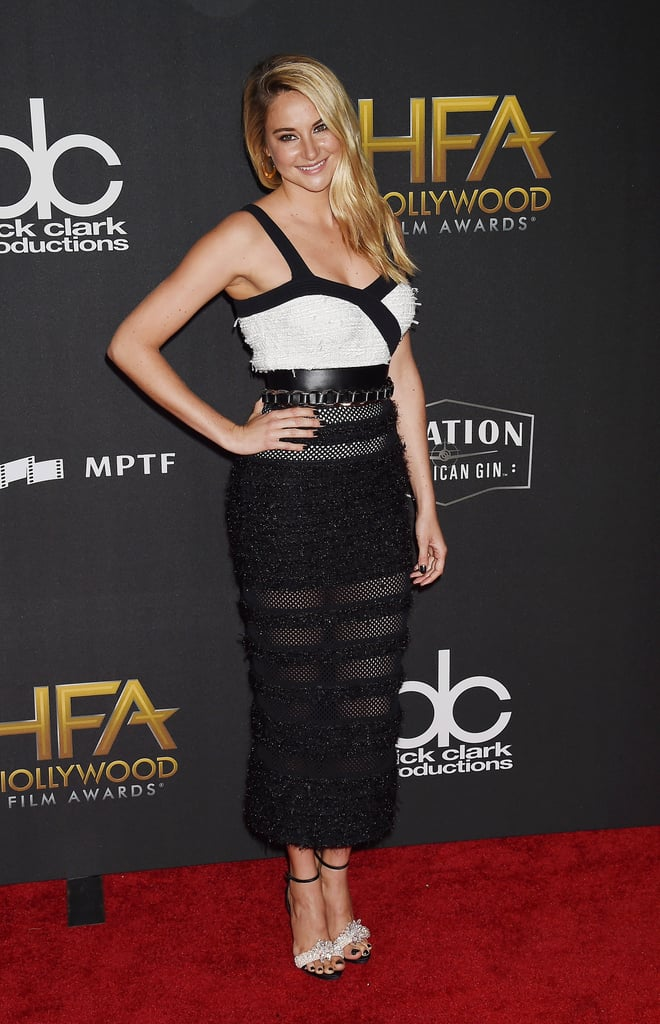 Shailene at the  21st Annual Hollywood Film Awards