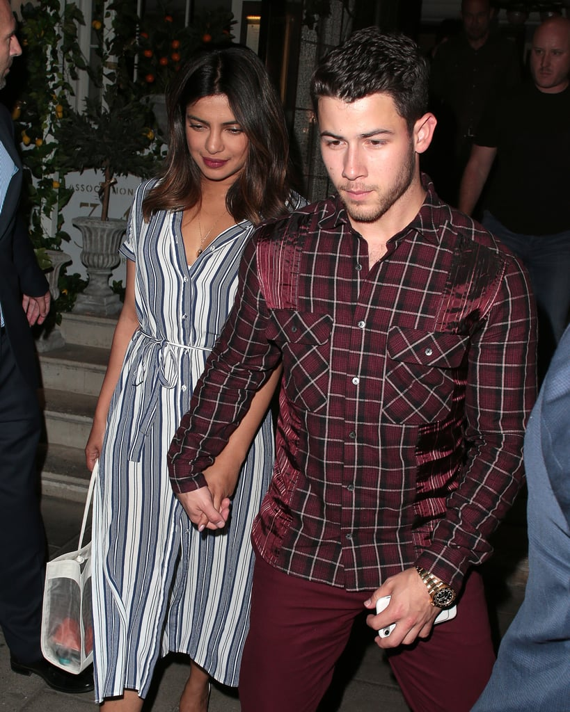 Date Night! The Couple Joined Hands While Stepping Out For Dinner in London