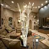 Natural Willow Twig Lighted Branch