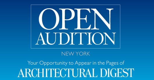 This Just In: Architectural Digest to Hold Open Auditions