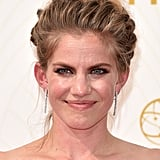 Anna Chlumsky at the Emmys in 2015