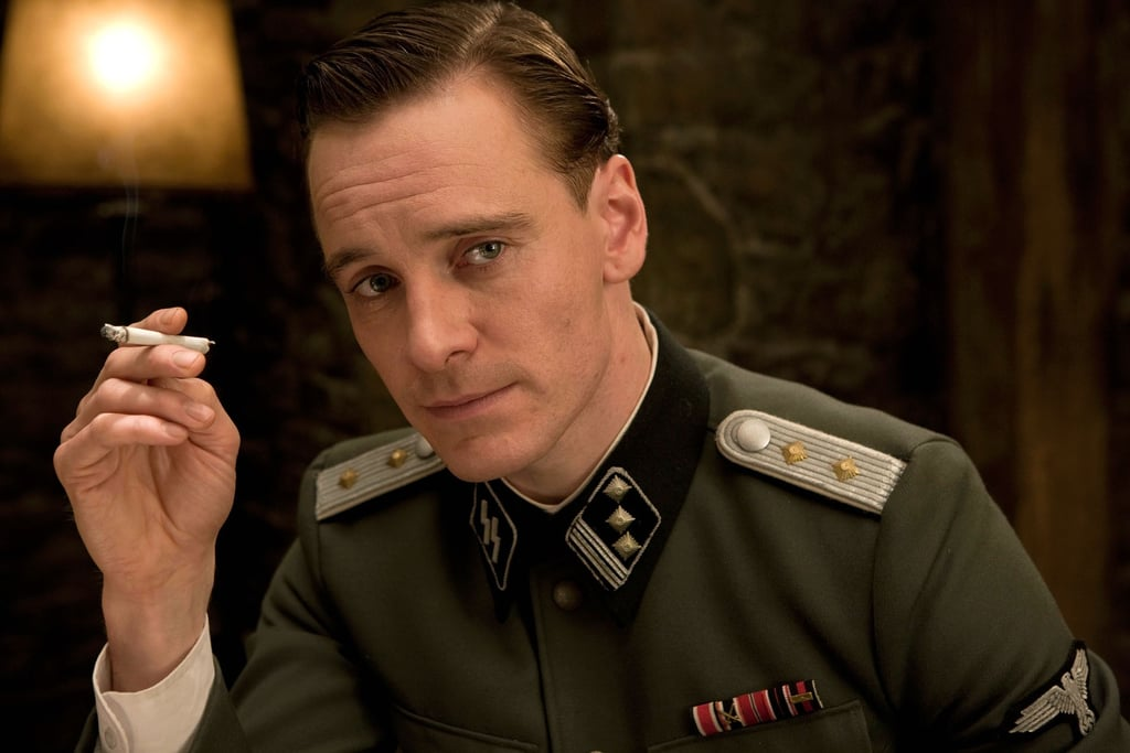 hot historical movie characters popsugar love sex michael fassbender as lt archie hicox