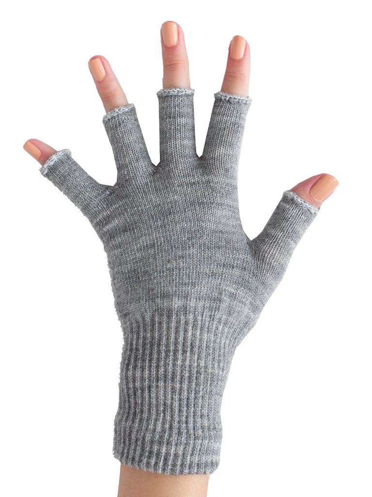 Texting maniac in your life? These American Apparel unisex wool blend fingerless gloves ($12) are cut just enough to reveal the fingertips.