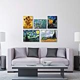 Vincent van Gogh Wall Collection 5 Panel Set