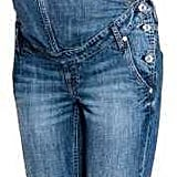 H&M Mama Denim Bib Overalls