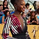 Lupita Nyong'o at the SAG Awards 2015