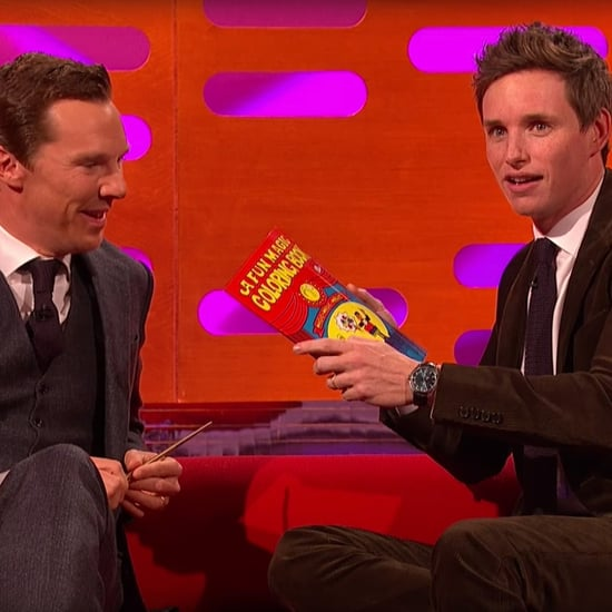 Eddie Redmayne and Benedict Cumberbatch do Magic