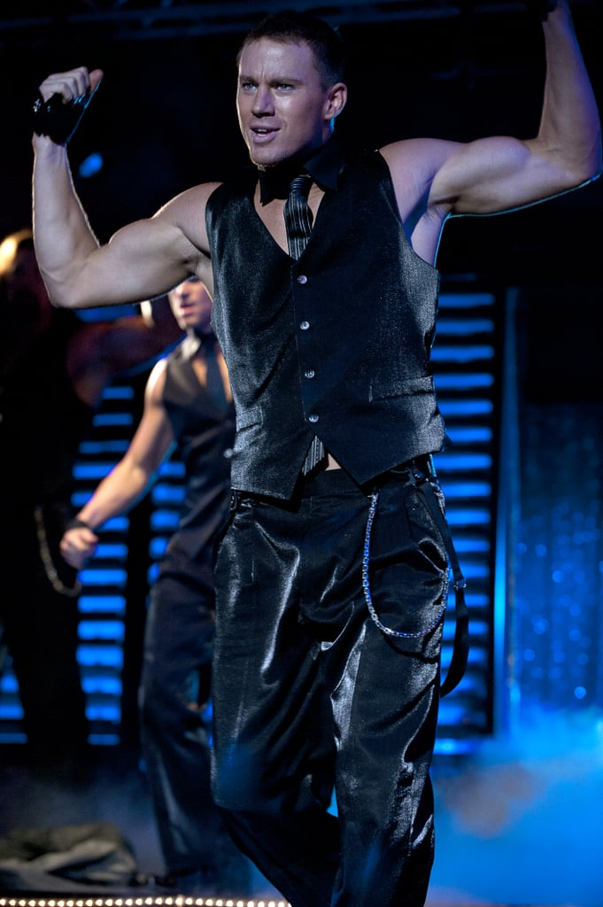 Channing Tatum flexed his muscles for 2012's Magic Mike.