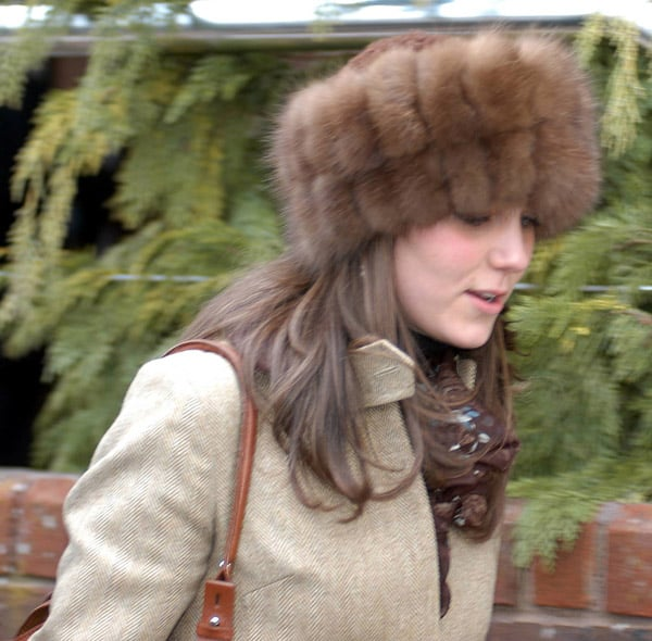 Kate last wore this coat in 2006 to the Cheltenham Cup.