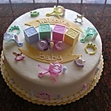 Give a Baby-Themed Cake