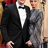 The couple kicked the glamour up a notch for the Oscars red carpet in March 2010.