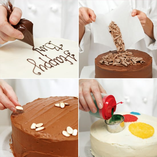 Easy Cake Decorating At Home : Easy Cake-Decorating Ideas POPSUGAR Food
