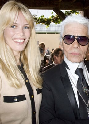 Karl Lagerfeld and Claudia Schiffer Team Up for Spring 2010 Chanel Campaign in Argentina