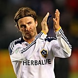 David Beckham Goes Scoreless With the Galaxy but Wins Big With His Boys and Girls
