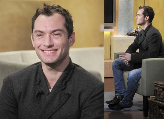Photos of Jude Law on Good Morning America, Watch Videos of David Letterman, Jimmy Fallon 2009-12-21 03:55:36