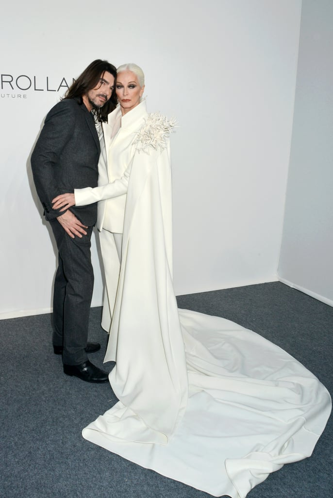Stéphane Rolland and Carmen Dell'Orefice