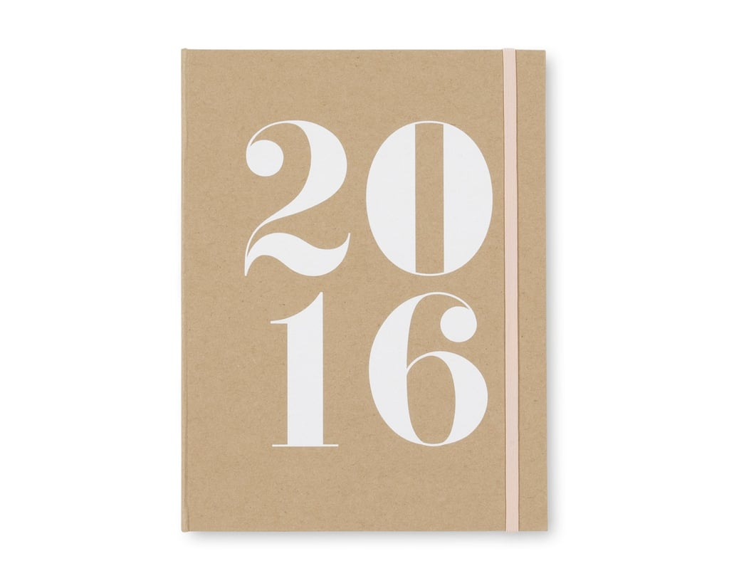 Sugar Paper Signature Kraft 2016 Weekly/Monthly 6 x 9 Planner