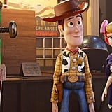 Woody and Bo Peep From Toy Story 4