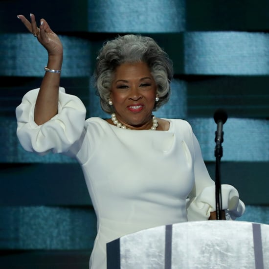 Joyce Beatty Wearing Same Dress as Melania Trump DNC 2016