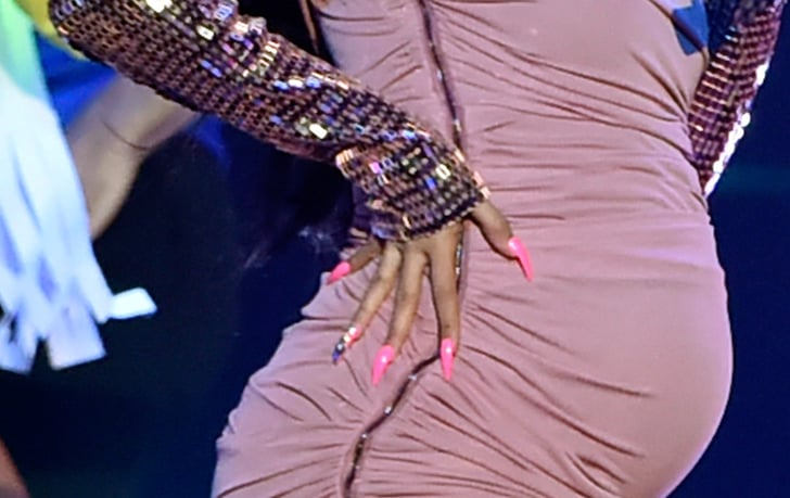 Cardi B Nail Art: This Mani Only Had Gems On One Finger