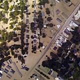 Aerial views above Denham Springs, LA.