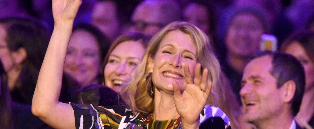 Gay Men's Chorus Sing to Laura Dern at Spirit Awards | Video