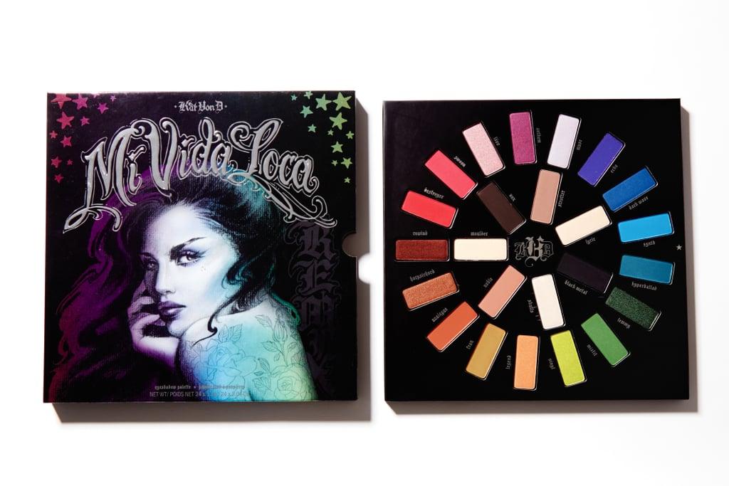 Kat Von D Mi Vida Loca Remix Eye Shadow Palette Swatches Popsugar