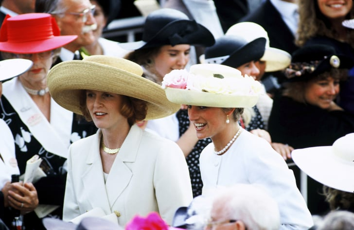 Princess Diana and Sarah Ferguson, 1991