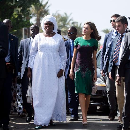 Queen Letizia's Senegal Outfits 2017