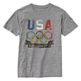 Gap's soft, vintage tees will lend Olympic spirit (and a cool-girl vibe) to your cutoffs and sneakers.  Gap Olympic Vintage T ($30)