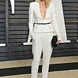 Follow Naomi Watts's Lead and Add a Thin Black Belt For a Little Flair