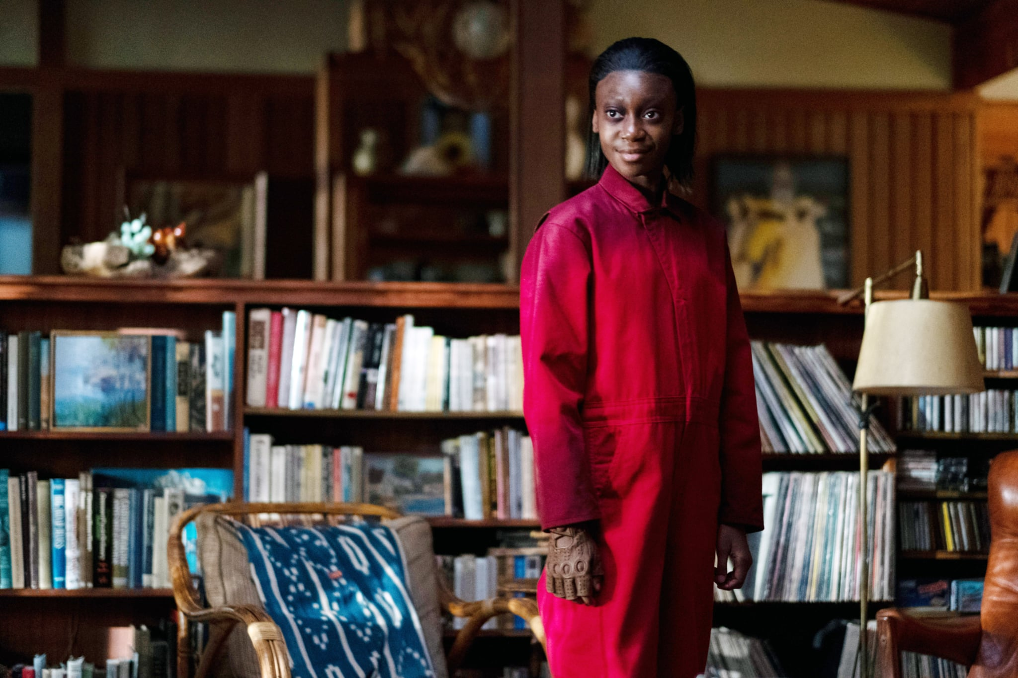 US, Shahadi Wright Joseph as doppelganger Umbrae, 2019. ph: Claudette Barius /  Universal / courtesy Everett Collection