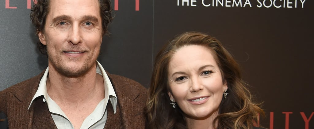 Matthew McConaughey Says Diane Lane Was His First Crush