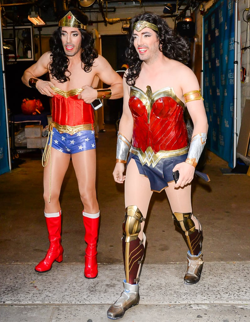 Property Brothers Wonder Woman Halloween Costume 2017 ...