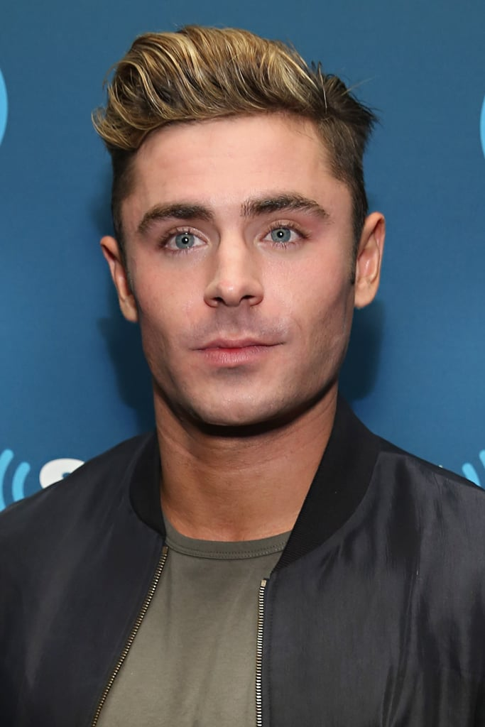 In May 2016 Efron Had Subtle Blond Highlights Zac Efron Platinum
